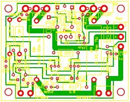 150 Watt Power Amplifier Circuit Board