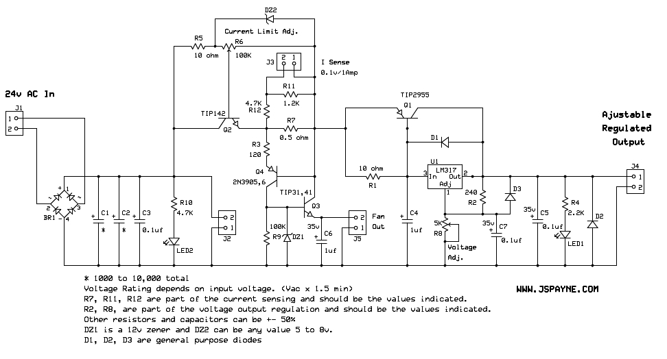 variable power supply circuit diagram the wiring diagram variable voltage and current power supply circuit diagram circuit diagram