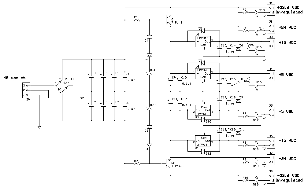 univpwr universal power supply universal power supply circuit diagram at edmiracle.co
